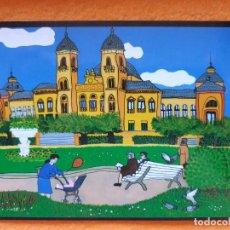 Postales: POSTAL ORIGINAL PINTURA NAIF SAN SEBASTIÁN 14,5 X 10,5 CM. Lote 224437165