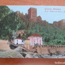 Postales: POSTAL DE LA ALHAMBRA : CARRERA DEL DARRO Y ALHAMBRA Nº 23. Lote 224624792