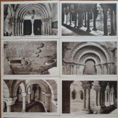 Postales: 14 POSTALES ART ROMANIC - EN NEGRO -. Lote 224656365