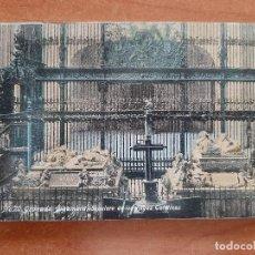 Postales: POSTAL ALHAMBRA - SEPULCRO DE LOS REYES CATÓLICOS - Nº 20. Lote 224688517