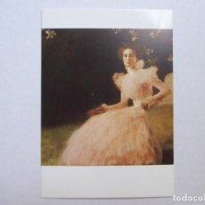 Cartoline: POSTAL GUSTAV KLIMT; BILDNIS SONJA KNIPS (1898) -GALERIE WEIZ SALZBURG -421. Lote 227873743