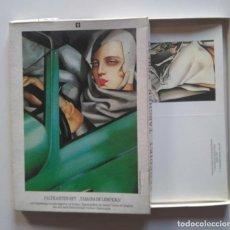 Postales: CAJA CON OCHO TARJETAS DE TAMARA DE LEMPICKA. BENEDIKT TASCHEN VERLAG. Lote 228738675