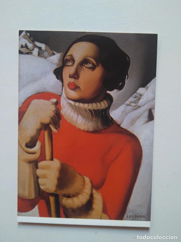 POSTAL DE TAMARA DE LEMPICKA (Postales - Postales Temáticas - Arte)