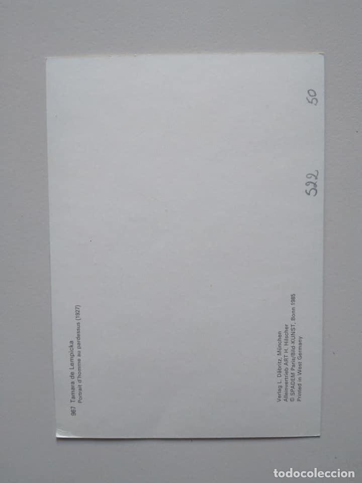 Postales: Postal de Tamara de Lempicka - Foto 2 - 228740388