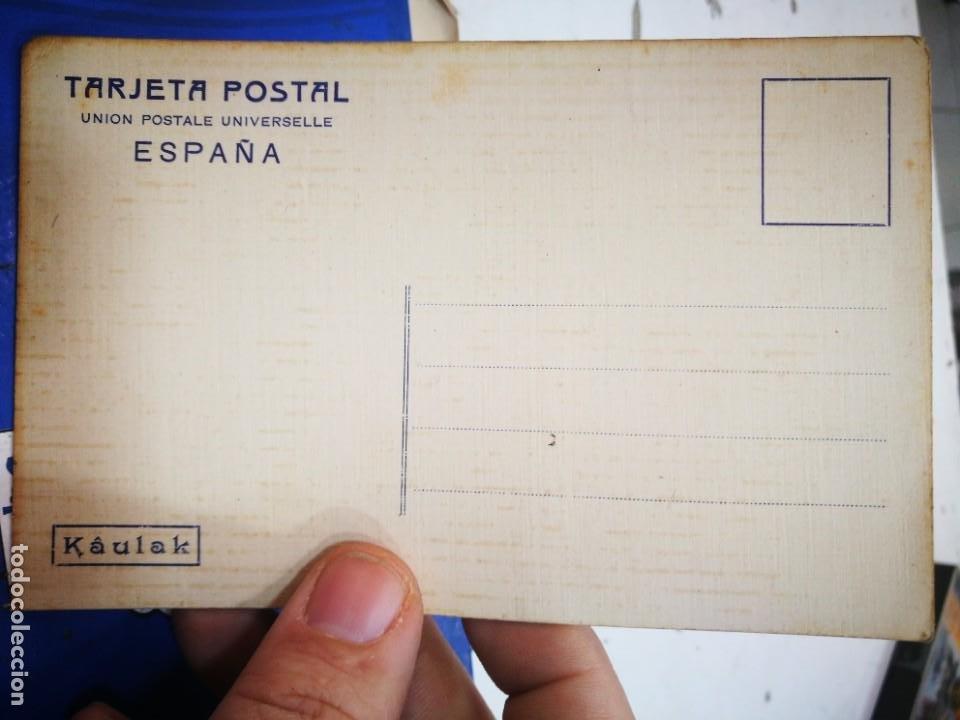 Postales: Postal La Novicia Cuadro de J. MORERA Unión Postales UNIVERSELLE KAULAK S/C - Foto 2 - 231478715
