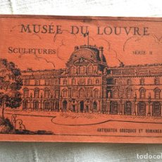 Postales: MUSEE DU LOUVRE SCULPTURES SERIE B ANTIQUITES GREQUES ET ROMAINES - 20 POSTALES MUSEO ESCULTURAS. Lote 234732270