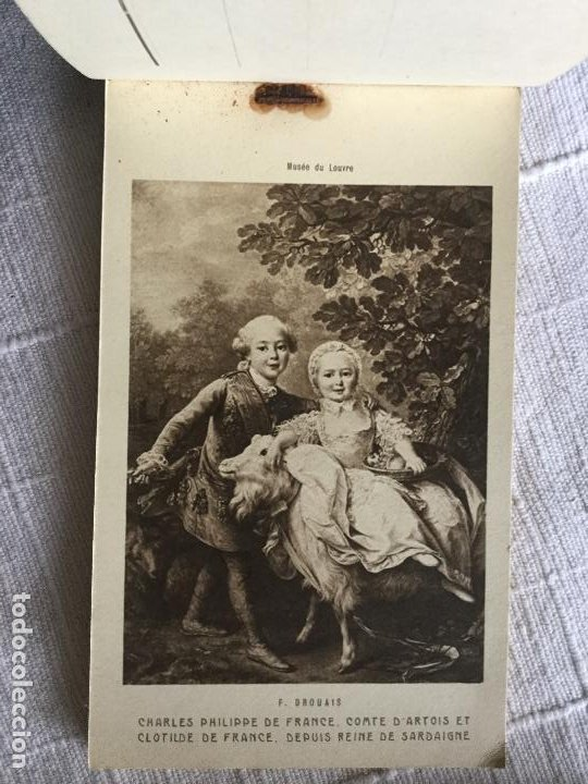 Postales: MUSEE DU LOUVRE UN CHOIX DE PEINTURES ECOLE FRANÇAISE SERIE 3 24 CARTES POSTALES - ESCUELA FRANCESA - Foto 2 - 234735005