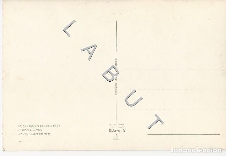 Postales: ADORACION DE LOS MAGOS F JUAN B MAINO POSTAL C43 - Foto 2 - 234934000