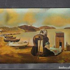 Postales: Nº 2 TEATRO-MUSEO DALI. FIGUERAS. EL DESTETE DEL MUEBLE. Lote 235042595