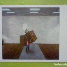 Postales: GINO RUBERT GALERIA MASHA PRIETO EXPO ABR 2002 TARJETA ORIGINAL 14,5 X 10,5 CMS ARTE. Lote 235558150