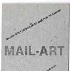 Postales: ANTONI MIRÓ, MAIL-ART, EL ARTE POR CORREO. ENTREGAS 1 A 4. 1988. Lote 235797235