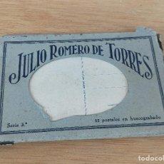 Postales: LIBRO POSTALES JULIO ROMERO TORRES. Lote 235803775