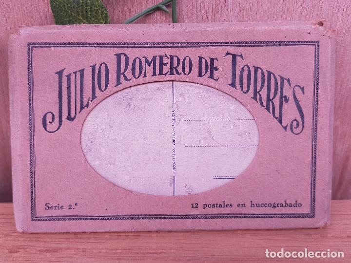 JULIO ROMERO DE TORRES LIBRO POSTALES (Postales - Postales Temáticas - Arte)