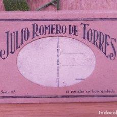 Postales: JULIO ROMERO DE TORRES LIBRO POSTALES. Lote 235805290