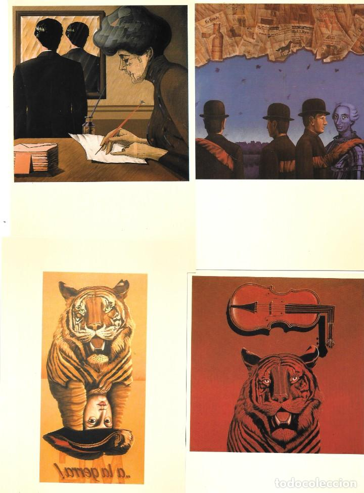 Postales: Antoni Miró, MAIL-ART, el arte por correo. Entregas 7 y 8 1985-1991 - Foto 5 - 235819900