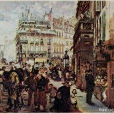 Postales: ADOLPH VON MENZEL, PARISER WOCHENTAG. / POSTAL SIN CIRCULAR. Lote 235885575