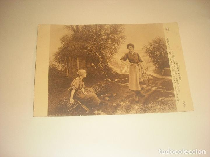POSTAL SALON PARIS 4354 . HERMOSO DIA, SIN CIRCULAR (Postales - Postales Temáticas - Arte)