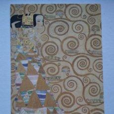 Postales: POSTAL ARTE GUSTAV KLIMT THE EXPECTATION DETALLE 1905 - 9. Lote 235970300