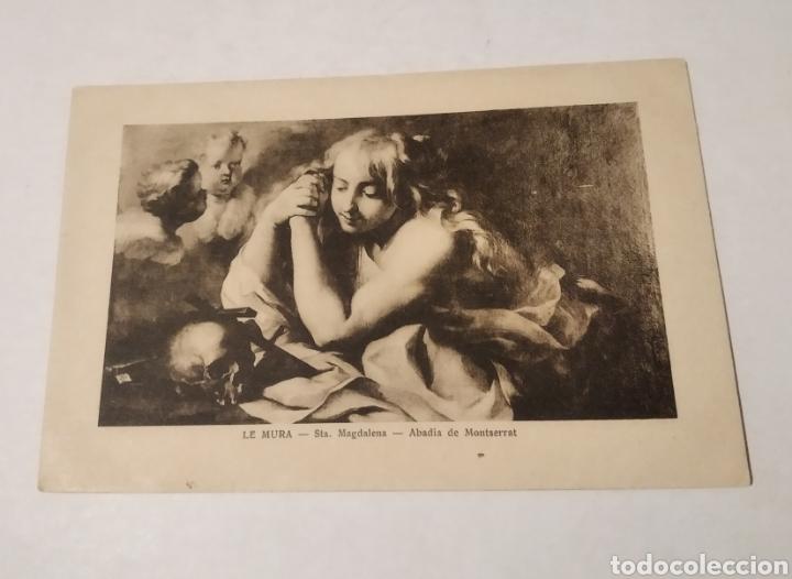 POSTAL ARTE SANTA MAGDALENA LE MURA ABADIA DE MONTSERRAT (Postales - Postales Temáticas - Arte)