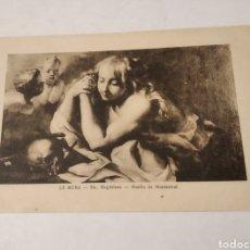 Postales: POSTAL ARTE SANTA MAGDALENA LE MURA ABADIA DE MONTSERRAT. Lote 236065050