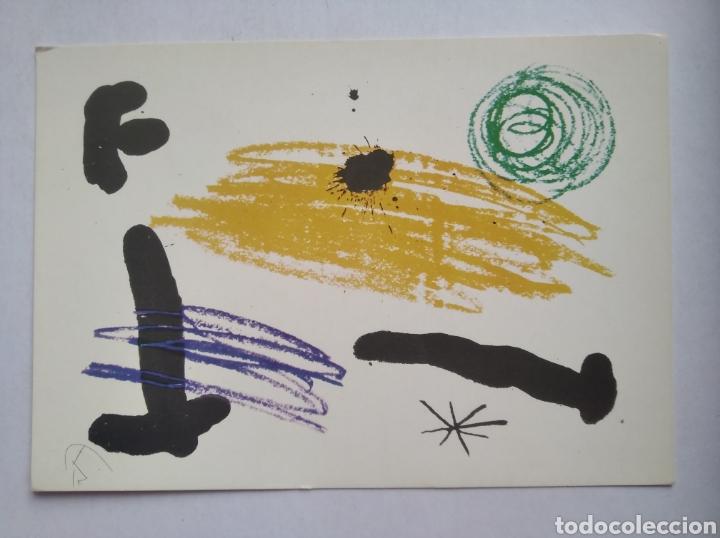 POSTAL ARTE PINTURA JOAN MIRO BARCELONA 1964 (Postales - Postales Temáticas - Arte)
