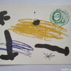 Postales: POSTAL ARTE PINTURA JOAN MIRO BARCELONA 1964. Lote 236129705