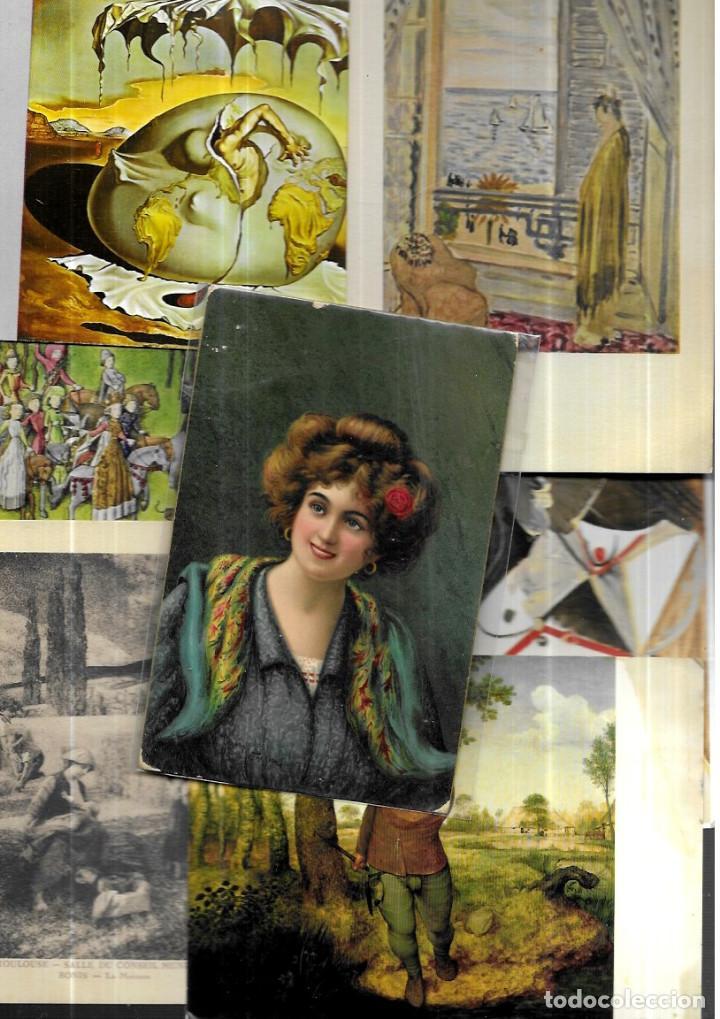 90 POSTALES ARTE ( LOTE 299 ) (Postales - Postales Temáticas - Arte)