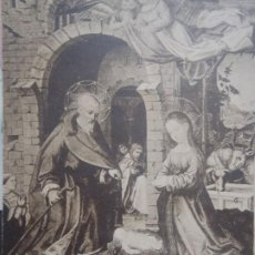 Postales: MUSEO EPISCOPAL DE VICH -NAIXEMENT DE JESUS - PINTURA EN TAULA. Lote 242940555