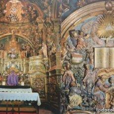 Postales: SANT LLORENC DE MORUNYS - LOTE DE DOS POSTALES - ALTAR Y CAPILLA. Lote 243089655