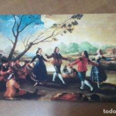 Postales: POSTAL Nº 2 EL BAILE GOYA SAVIR BARCELONA. Lote 246077865
