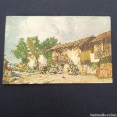 Postales: POSTAL ANTIGUA ARTE CASAS DE PUEBLO AT. Lote 246149950