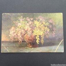 Postales: POSTAL ANTIGUA ARTE AL ÓLEO C. KOCH BLUMEN AT. Lote 246157960