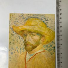 Postales: POSTAL. VINCENT VAN GOGH. ZELFPORTRET MET STROHOED. PARIJS 1887. VAN GOGH MUSEUM AMSTERDAM 1972.. Lote 246308445