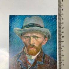 Postales: POSTAL. VINCENT VAN GOGH. ZELFPORTRET. PARIJS 1887. VAN GOGH MUSEUM AMSTERDAM 1972.. Lote 246308790