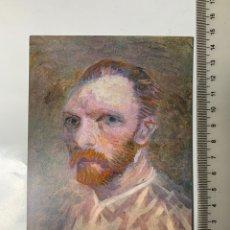 Postales: POSTAL. VINCENT VAN GOGH. ZELFPORTRET, PARIJS 1887. VAN GOGH MUSEUM AMSTERDAM 1972.. Lote 246309490