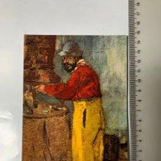 Postales: POSTAL. EDOUARD VUILLARD. PORTRAIT DE TOULOUSE-LAUTREC. 1898. MUSEE D' ALBI.. Lote 246312450