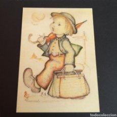 Postales: POSTAL ANTIGUA ARTE MARÍA INNOCENTIA HUMMEL WANDERBUB THE LITTLE WANDERER AT. Lote 246332300