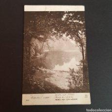 Postales: POSTAL ANTIGUA ARTE SALÓN DE PARÍS 1911 HENRI BIVA BRUME SUR L ETANG AT. Lote 246343510