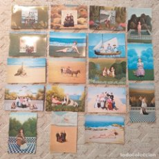 Postales: 18 POSTALES DE CUADROS NAIF. ISABEL VILLAR.. Lote 246717220