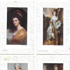 Postales: P-12528. COLECCION DE 5 POSTALES THOMAS GAINSBOROUGH, R.A.. Lote 248445990