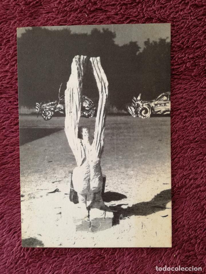 THIERRY JOB - FIGURES RITUELLES - EXPOSICION 4 GATS (Postales - Postales Temáticas - Arte)
