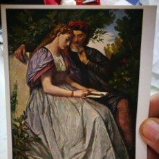 Cartes Postales: POSTAL ANSELM FEUERBACH 1829 - 1880 FRANCESCA DA RIMINI E PAOLO 1958 S/C. Lote 250341220