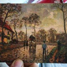 Cartes Postales: POSTAL PISSARRO 1830 - 1903 LA DILIGENZA A LOUVECIENNES S/C. Lote 251043205
