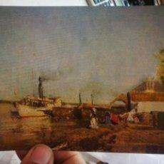 Cartes Postales: POSTAL JAKOB EMIL SCHINDLER 1842-1892 STEAMER LANDING STAGE ON THE DANUBE ST KAISERMUHLEN S/C. Lote 251197715