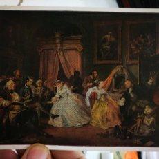Cartes Postales: POSTAL HOGARTH WILLIAM 1697 -1764 NATIONAL GALLERY S/C. Lote 253005020