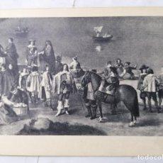 Postales: POSTAL MUSEO DEL PRADO 889, VISTA DE LA CIUDAD DE ZARAGOZA , VELAZQUEZ - HAUSER Y MENET. Lote 254159380