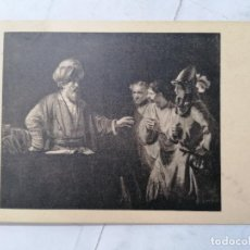 Postales: POSTAL WALLACE COLLECTION, REMBRANDT. Lote 254167510