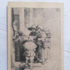 Postales: POSTAL NATIONAL GALLERY OF ART, REMBRANDT VAN RYN. Lote 254167925