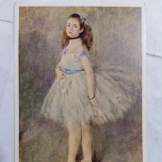 Postales: POSTAL THE DANCER, RENOIR, NATIONAL GALLERY OF ART. Lote 254170600