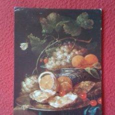 Postales: POST CARD MUSEO DEL PRADO 1774 J. VAN SOON BODEGÓN NATURE MORTE STILL LIFE, ED. ART. OFFO SPAIN...... Lote 254529500